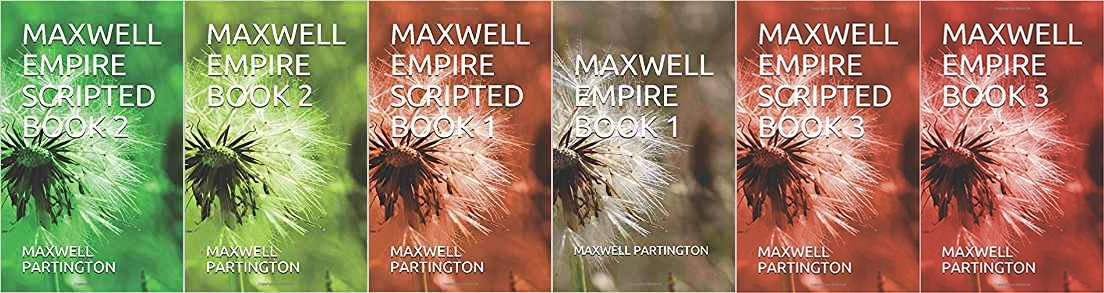 Maxwell Empire Books 1and2
